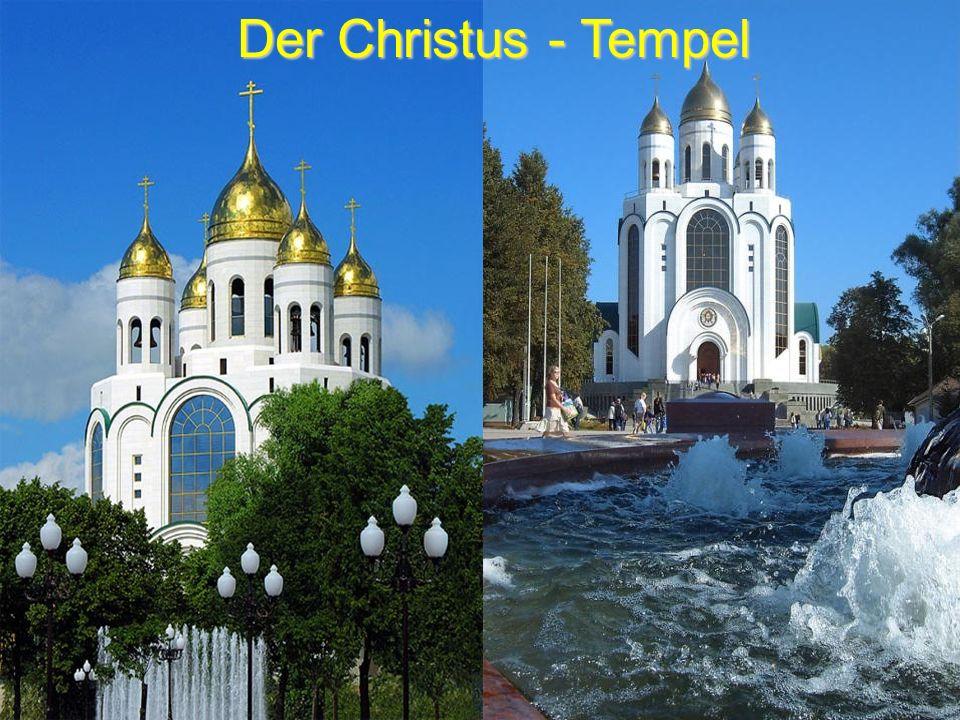 Der Christus - Tempel