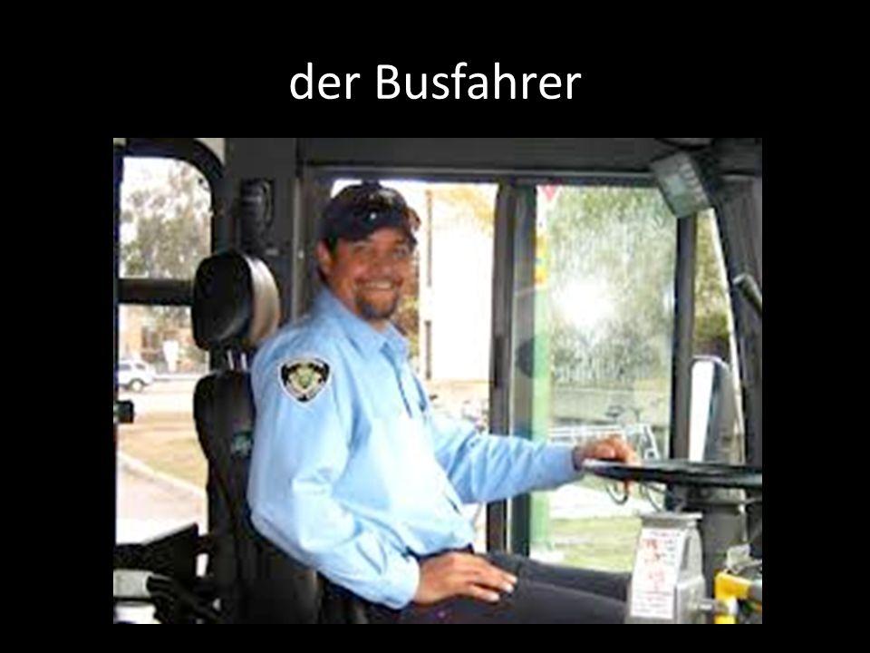 der Busfahrer