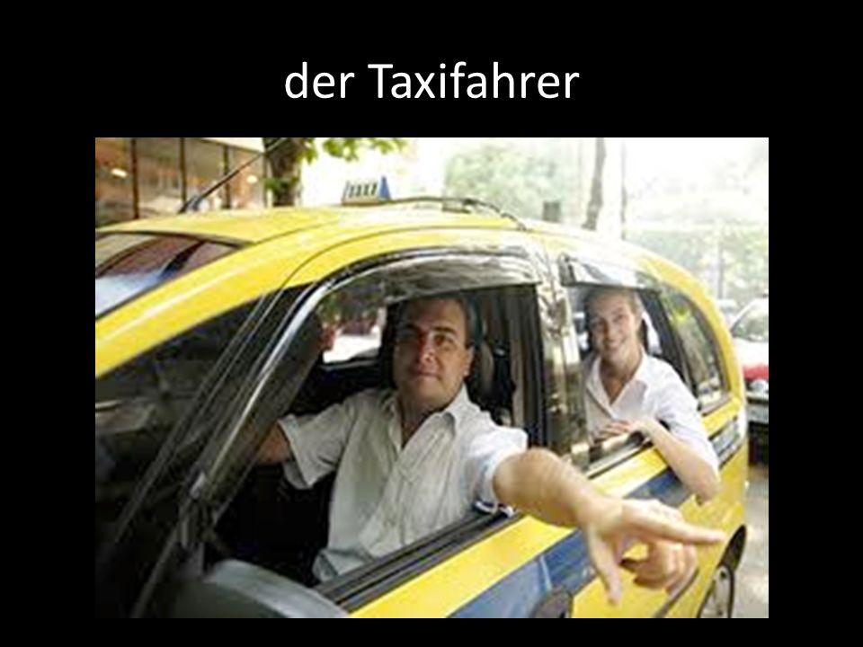 der Taxifahrer