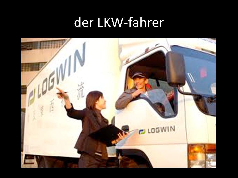 der LKW-fahrer