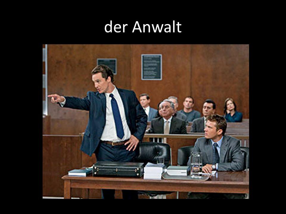 der Anwalt