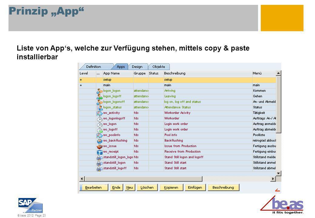 """Prinzip """"App Liste von App's, welche zur Verfügung stehen, mittels copy & paste installierbar"""