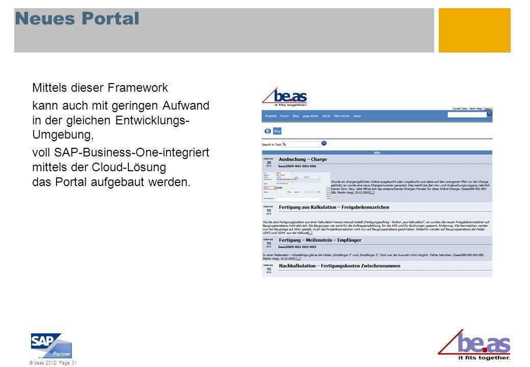 Neues Portal