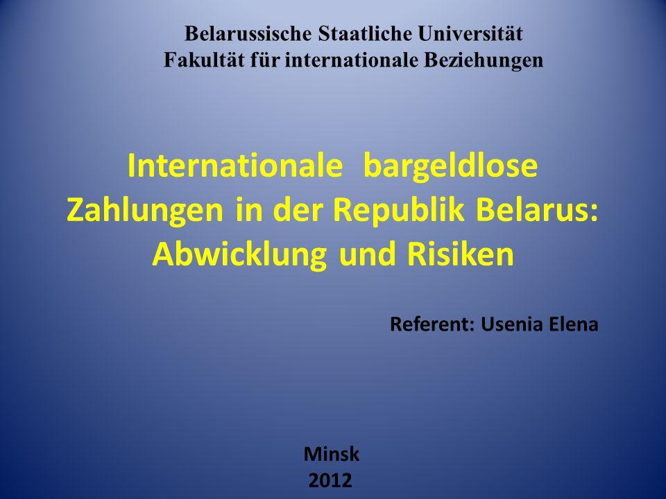 Belarussische Staatliche Universität