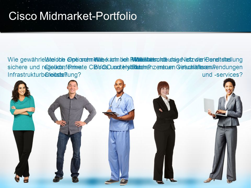 Cisco Midmarket-Portfolio