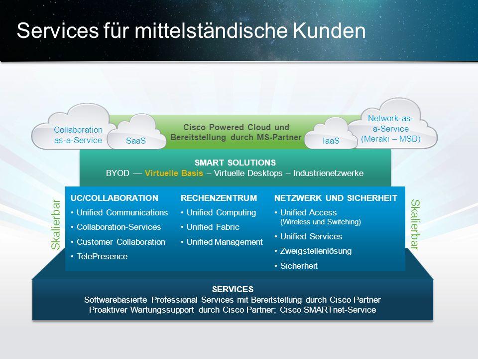 Services für mittelständische Kunden