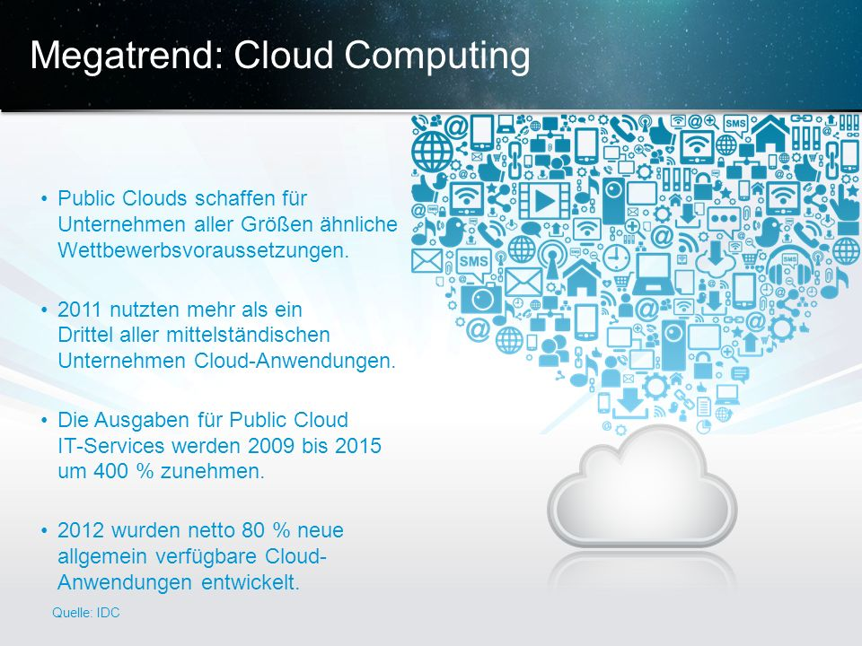 Megatrend: Cloud Computing