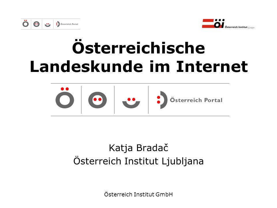 Österreichische Landeskunde im Internet
