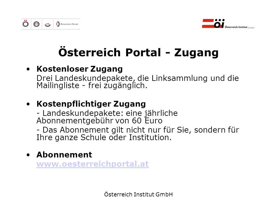 Österreich Portal - Zugang