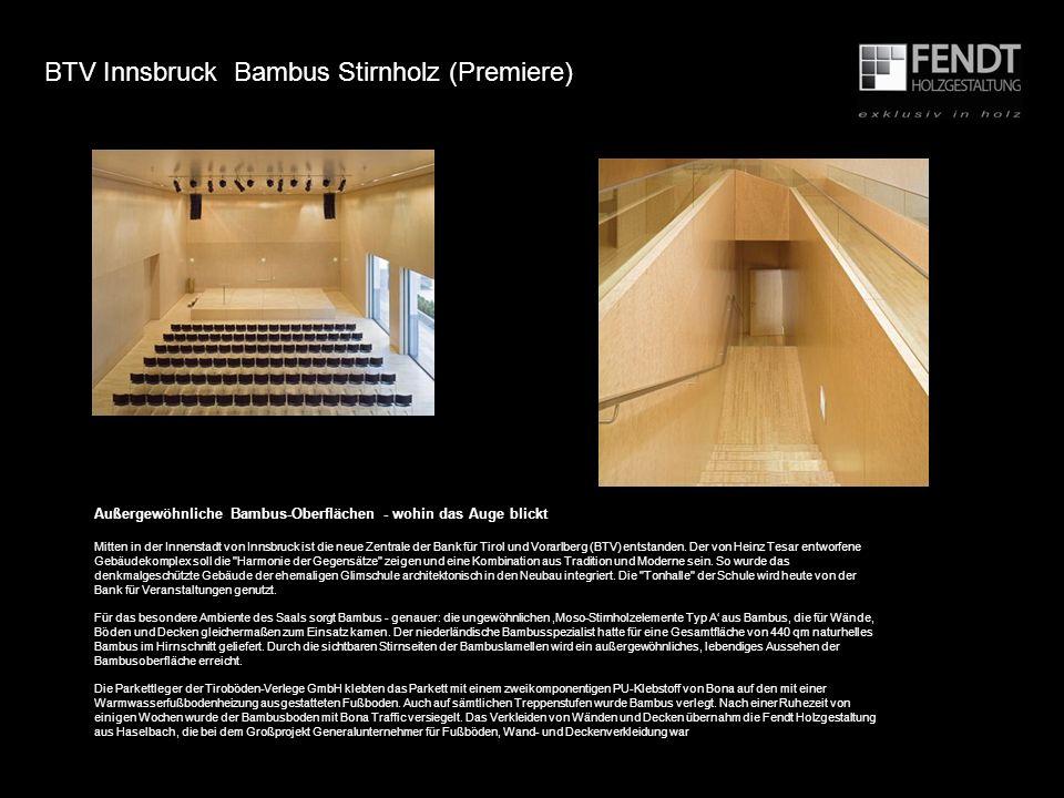 BTV Innsbruck Bambus Stirnholz (Premiere)
