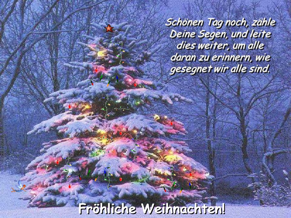 Fröhliche Weihnachten!