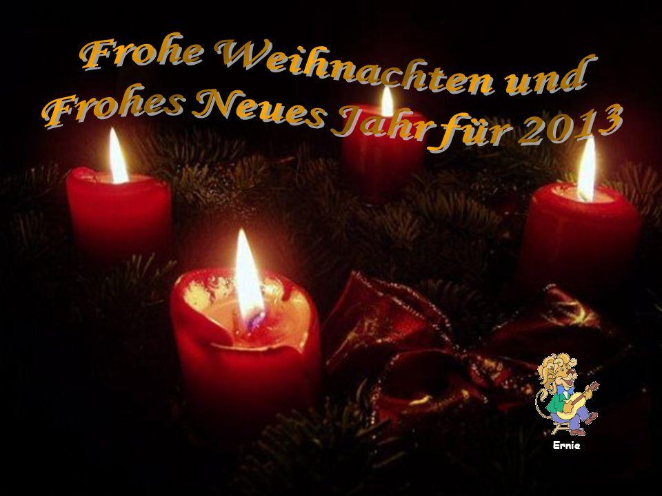Frohe Weihnachten und Frohes Neues Jahr für 2013