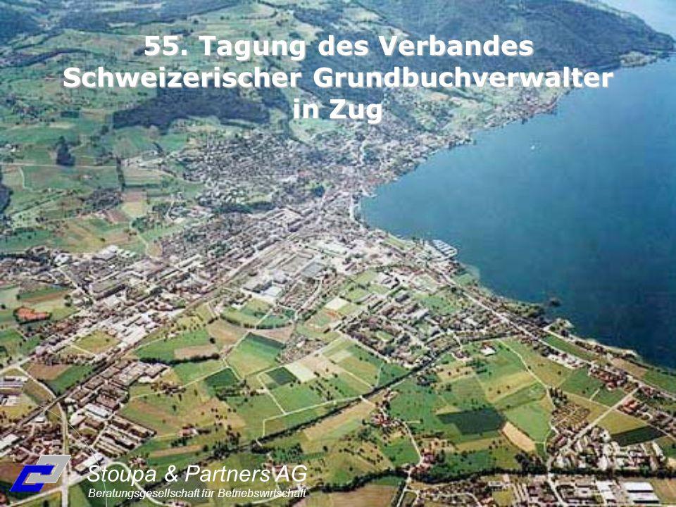 55. Tagung des Verbandes Schweizerischer Grundbuchverwalter in Zug