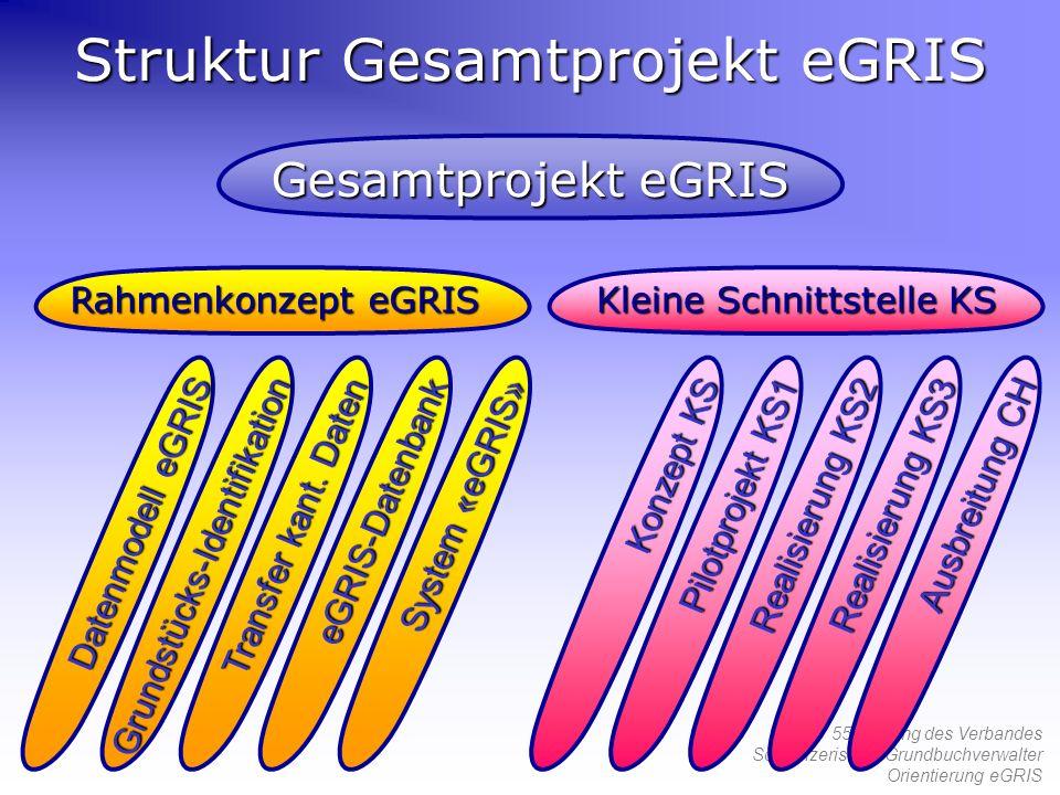 Struktur Gesamtprojekt eGRIS
