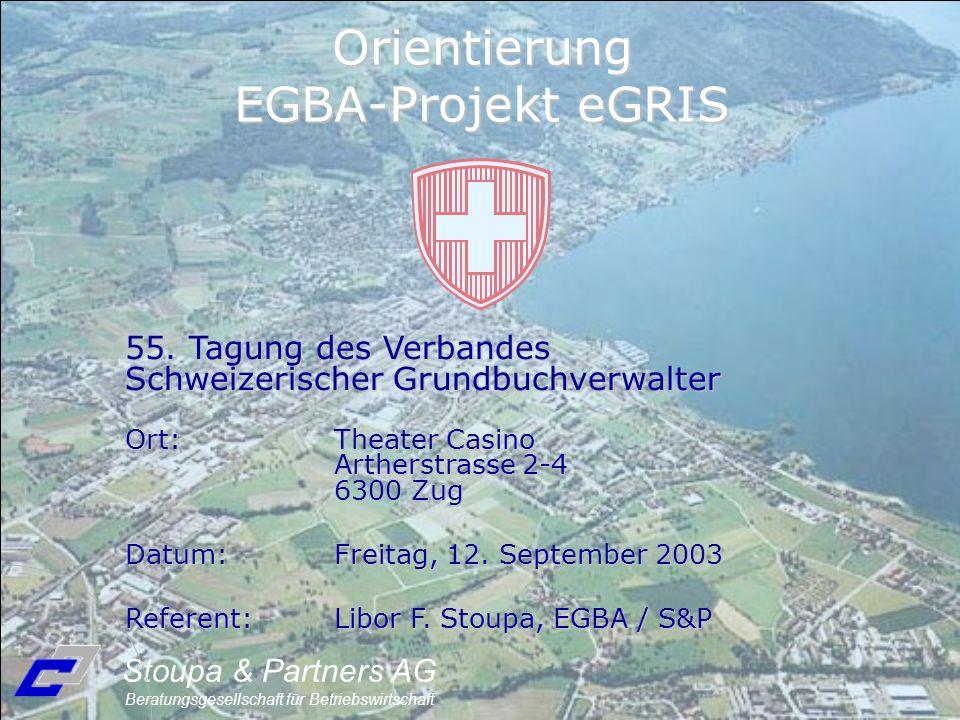 Orientierung EGBA-Projekt eGRIS