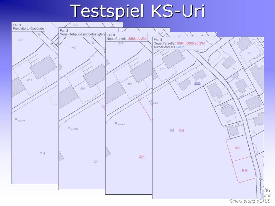Testspiel KS-Uri
