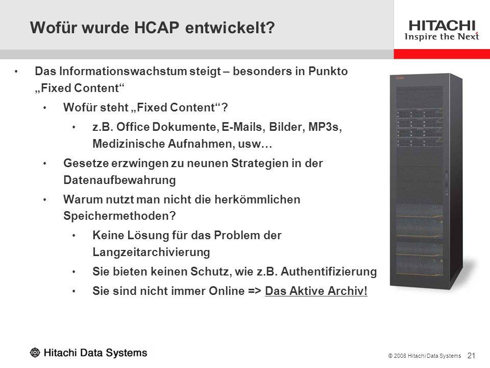 Wofür wurde HCAP entwickelt