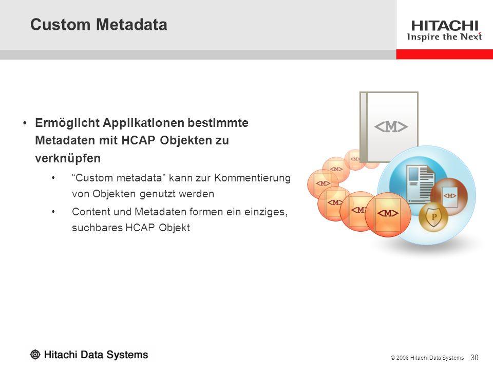 <M> Custom Metadata