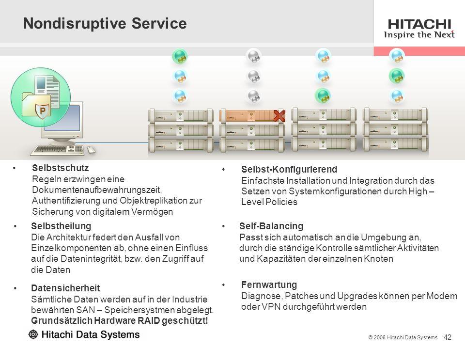 Nondisruptive Service