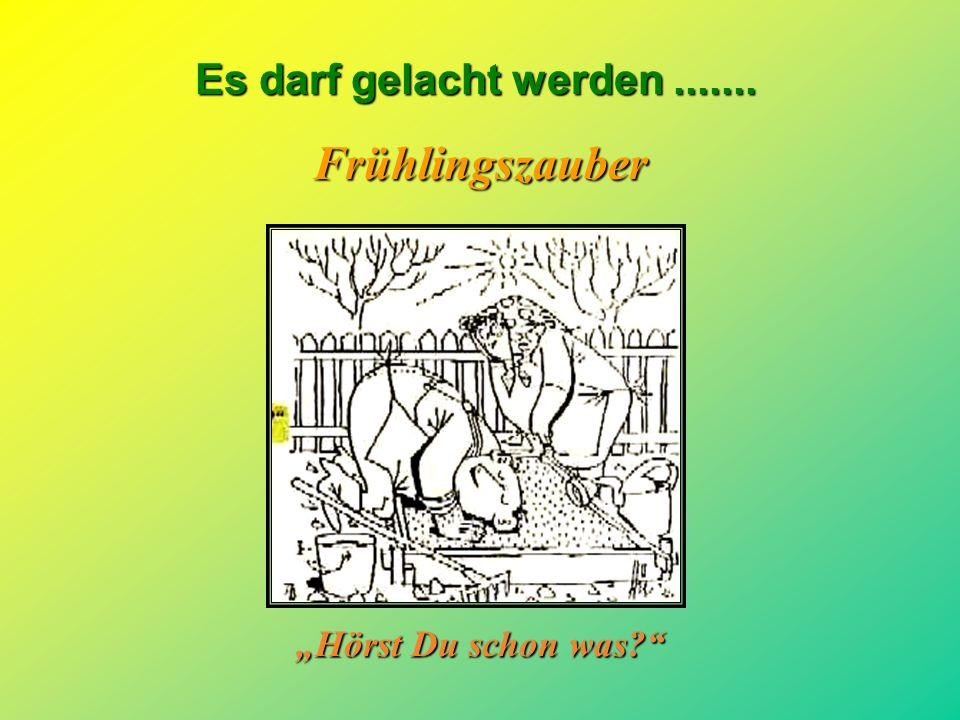 """Frühlingszauber """"Hörst Du schon was"""