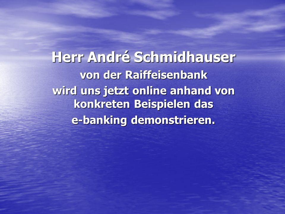 Herr André Schmidhauser