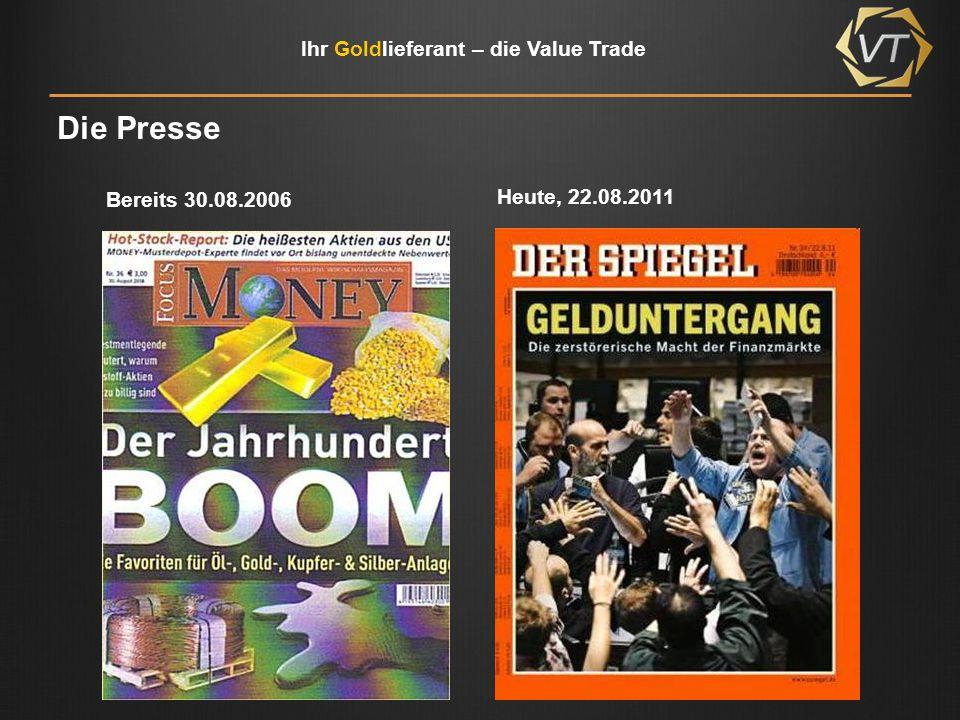 Die Presse Bereits 30.08.2006 Heute, 22.08.2011