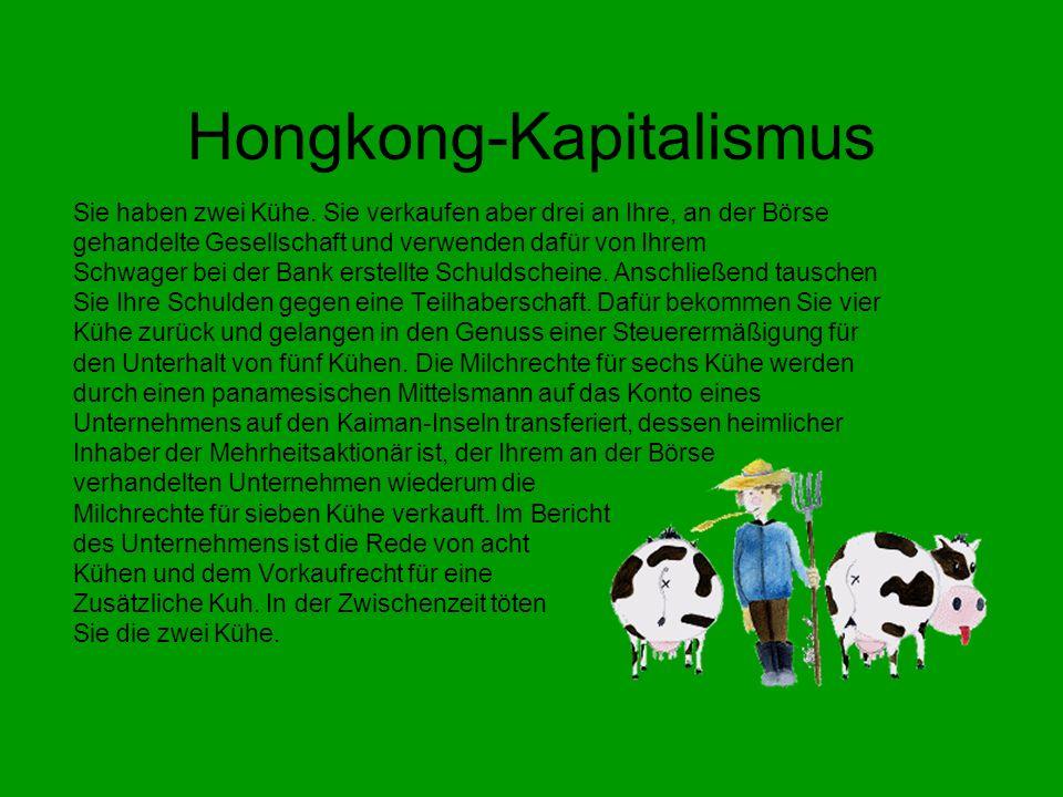 Hongkong-Kapitalismus
