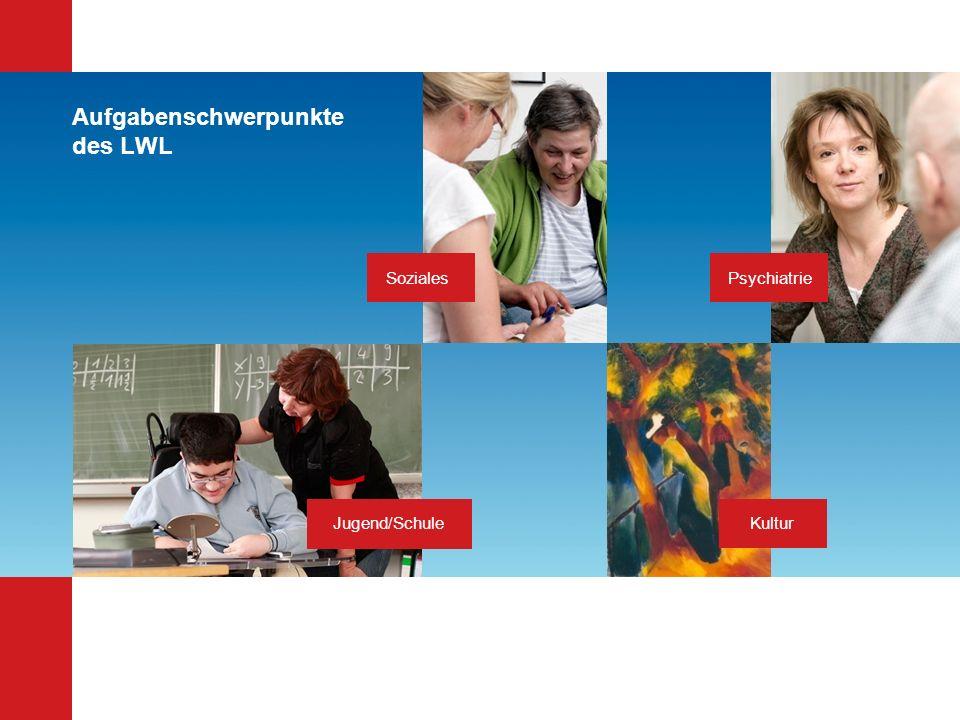 Aufgabenschwerpunkte des LWL