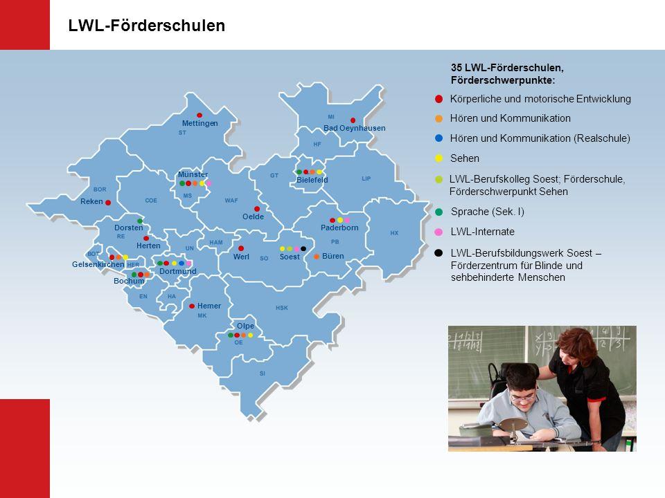 LWL-Förderschulen LWL-Förderschulen