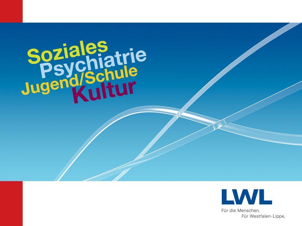 Ausblick Der LWL hat zusammen mit seinen Mitgliedern, den Kreisen und Städten, viel erreicht im sozialen und kulturellen Leben der Region.