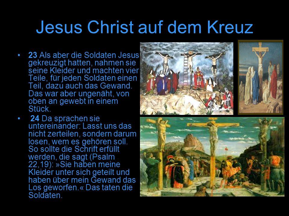 Jesus Christ auf dem Kreuz