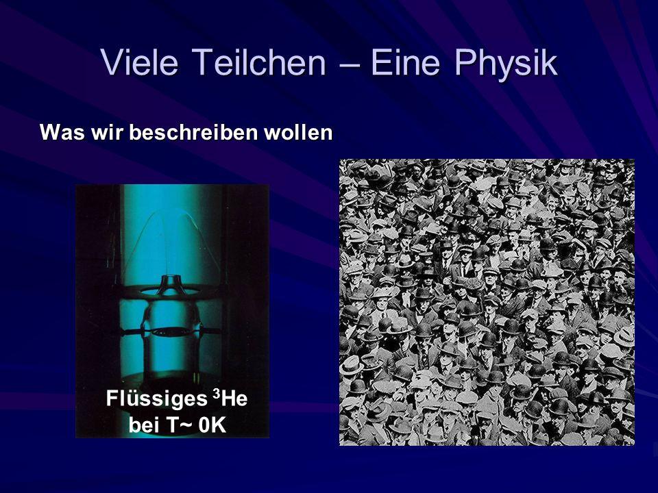 Viele Teilchen – Eine Physik
