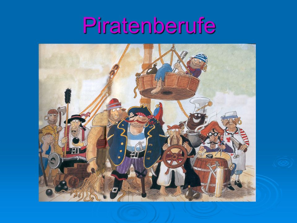 Piratenberufe