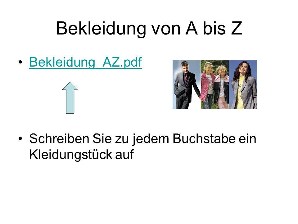 Bekleidung von A bis Z Bekleidung_AZ.pdf