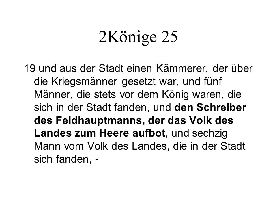 2Könige 25
