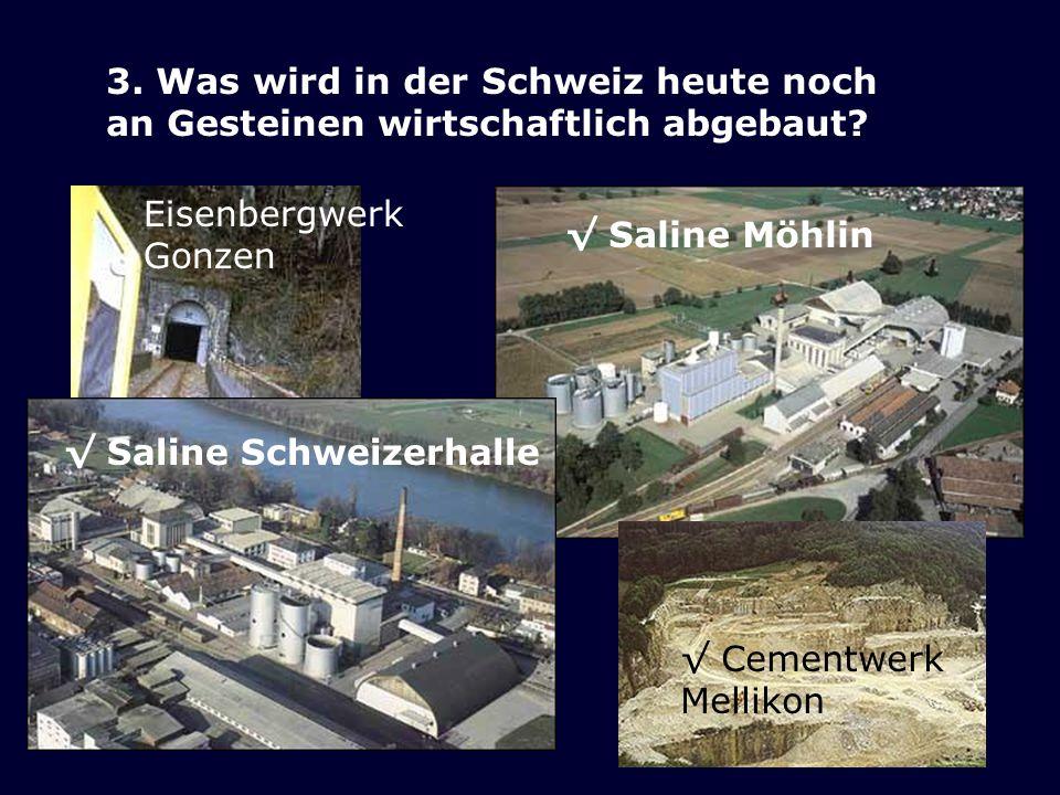 3. Was wird in der Schweiz heute noch