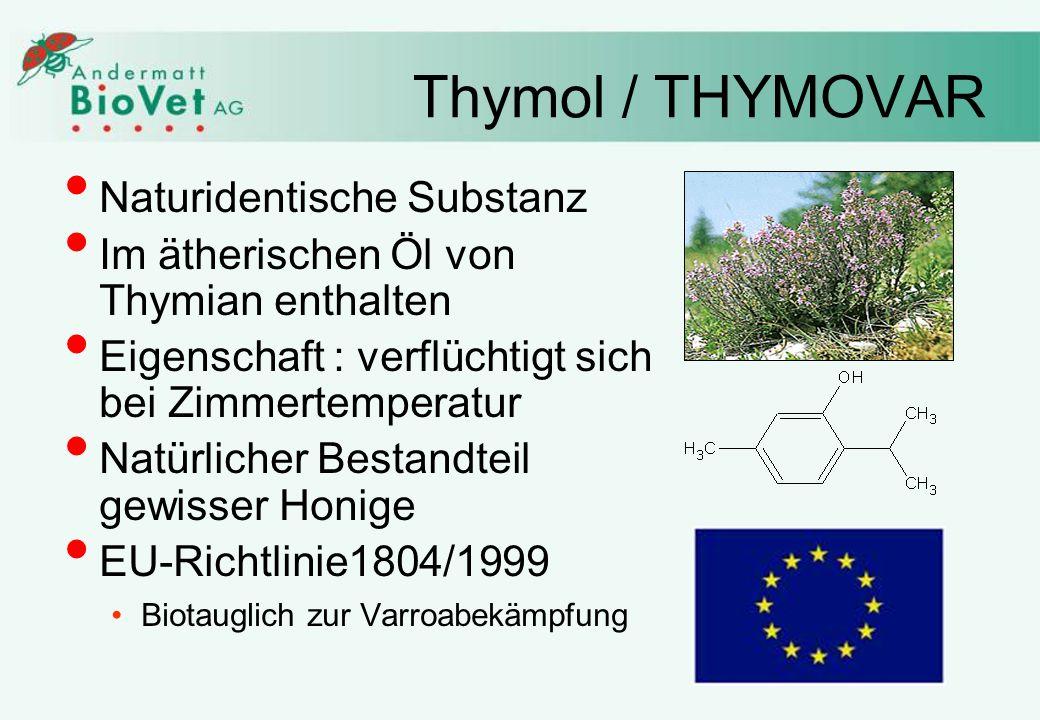 Thymol / THYMOVAR Naturidentische Substanz