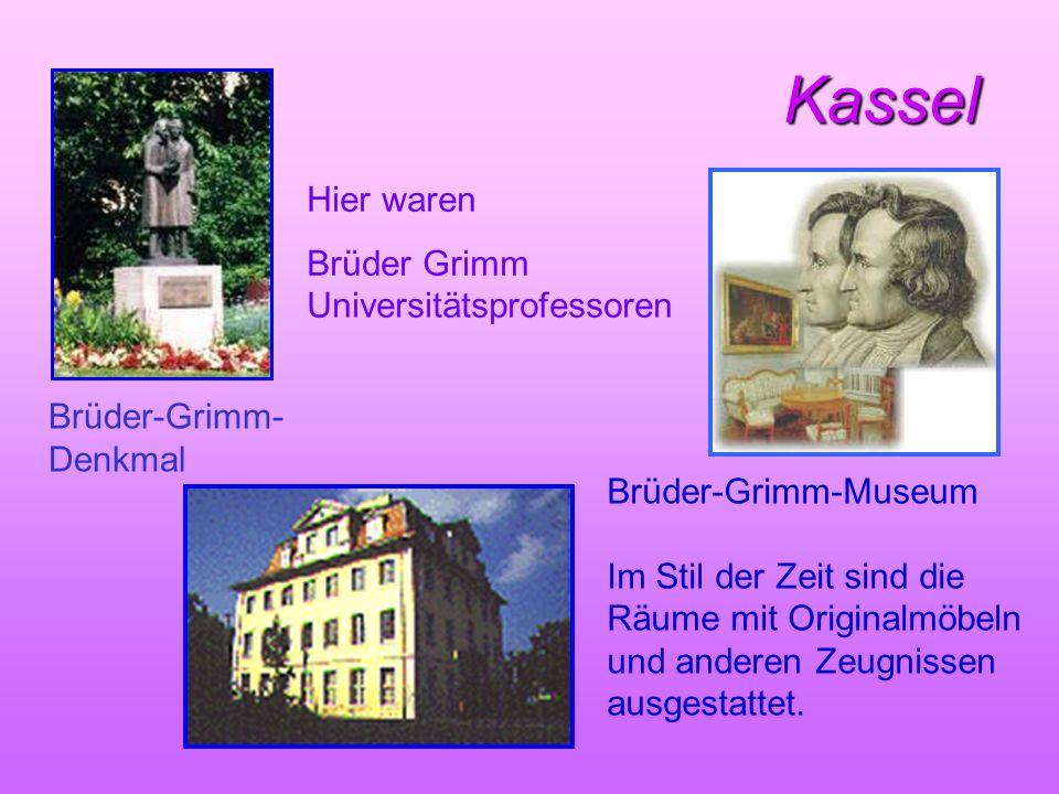 Kassel Hier waren Brüder Grimm Universitätsprofessoren