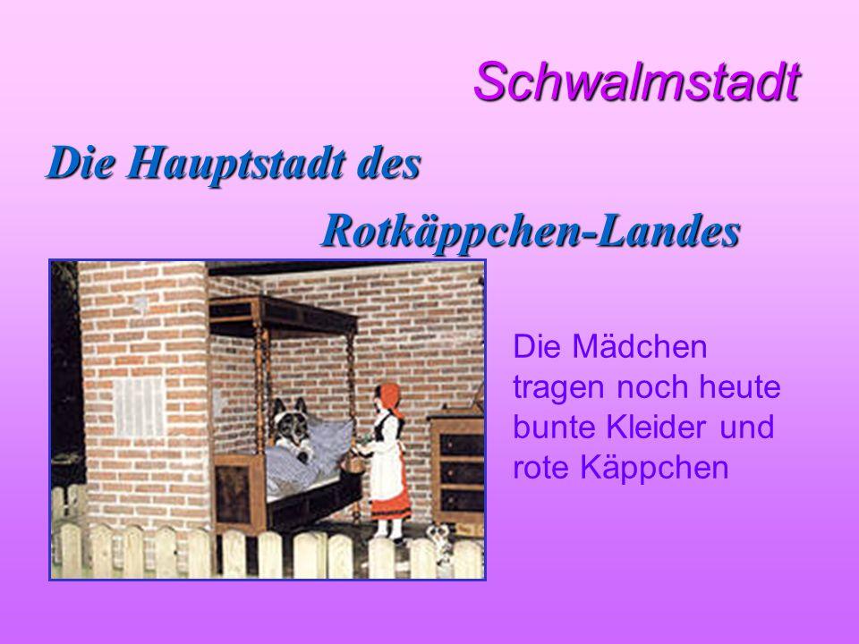 Schwalmstadt Die Hauptstadt des Rotkäppchen-Landes