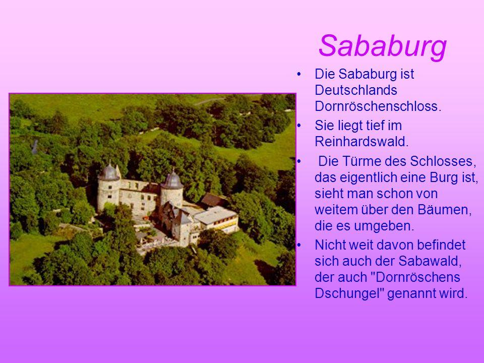 Sababurg Die Sababurg ist Deutschlands Dornröschenschloss.