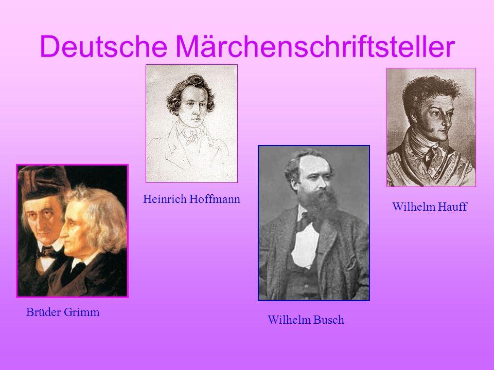 Deutsche Märchenschriftsteller