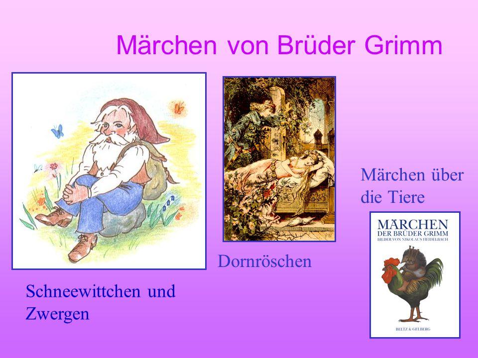 Märchen von Brüder Grimm
