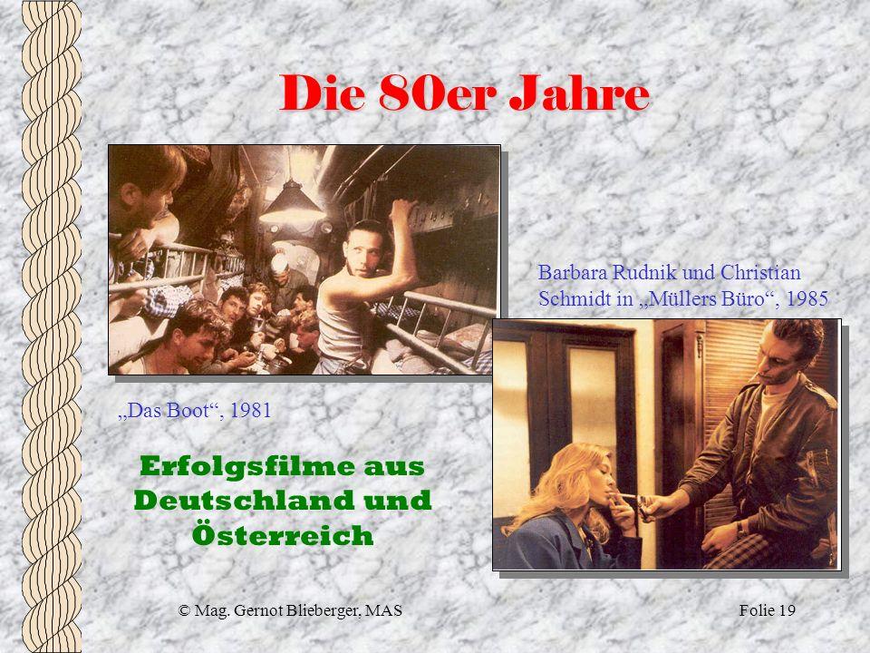 Die 80er Jahre Erfolgsfilme aus Deutschland und Österreich