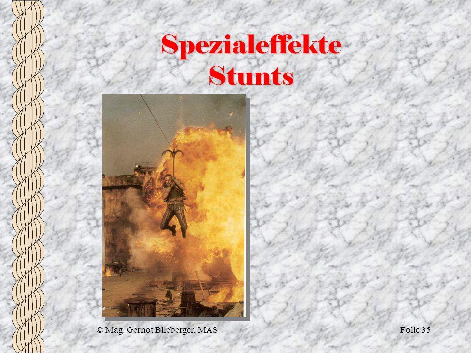 Spezialeffekte Stunts