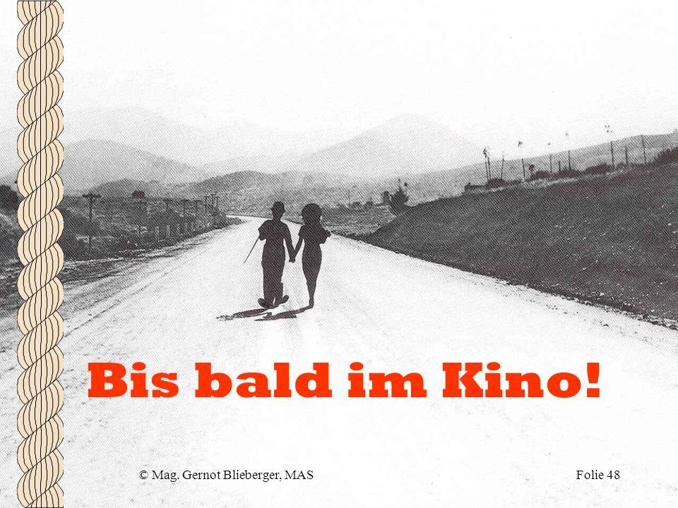 © Mag. Gernot Blieberger, MAS