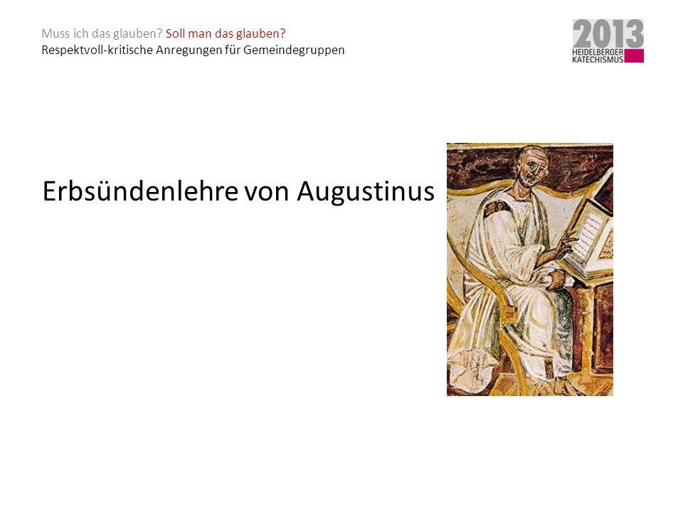 Erbsündenlehre von Augustinus