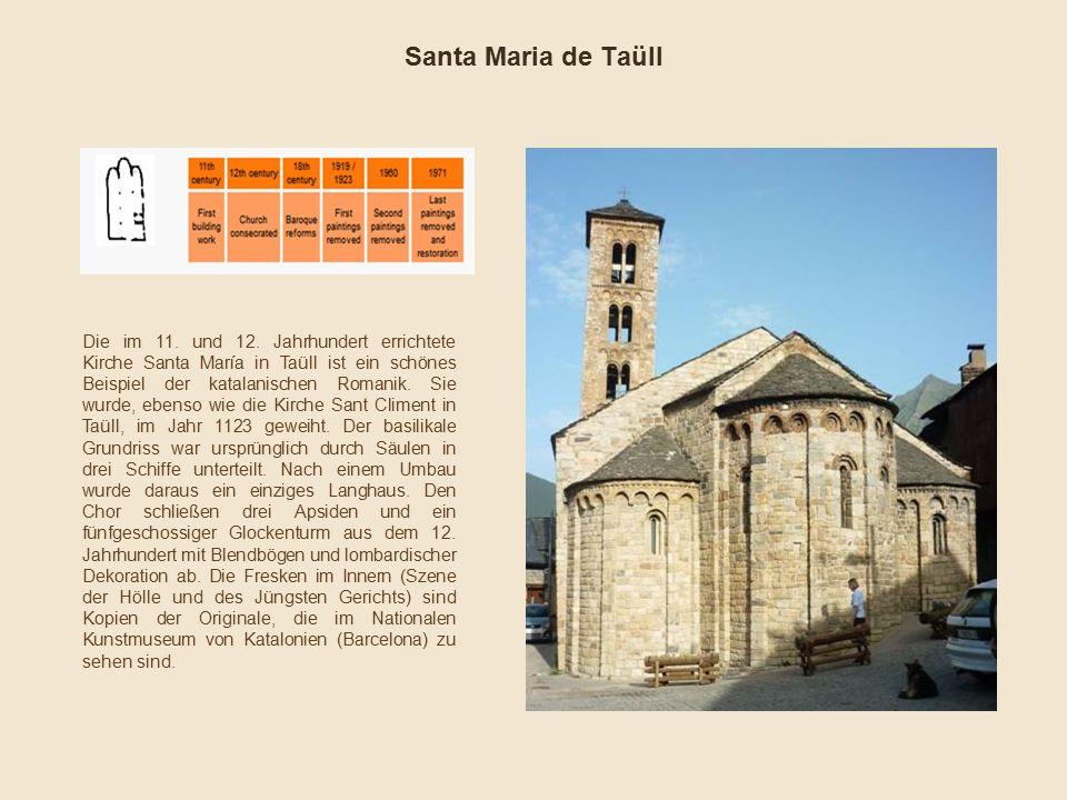 Santa Maria de Taüll