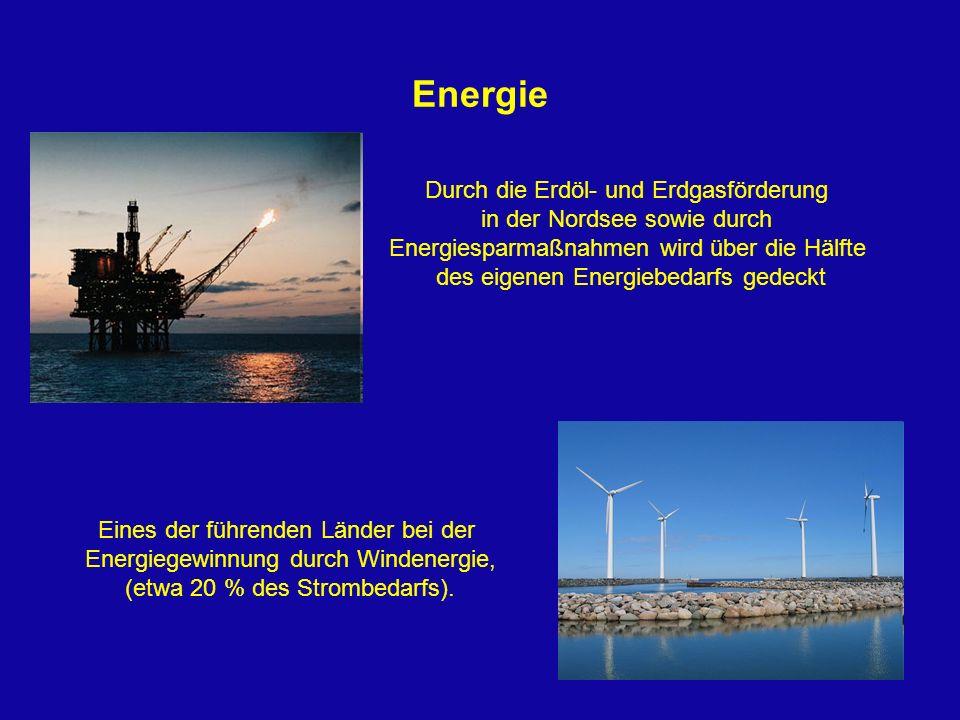 Energie Durch die Erdöl- und Erdgasförderung