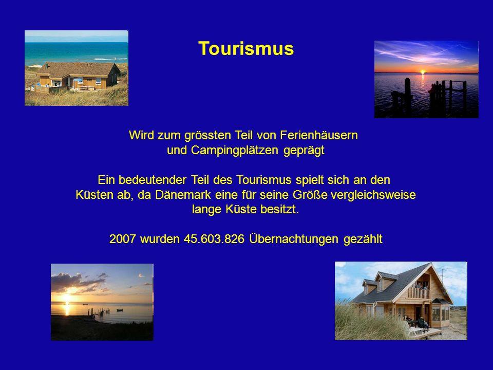 Tourismus Wird zum grössten Teil von Ferienhäusern