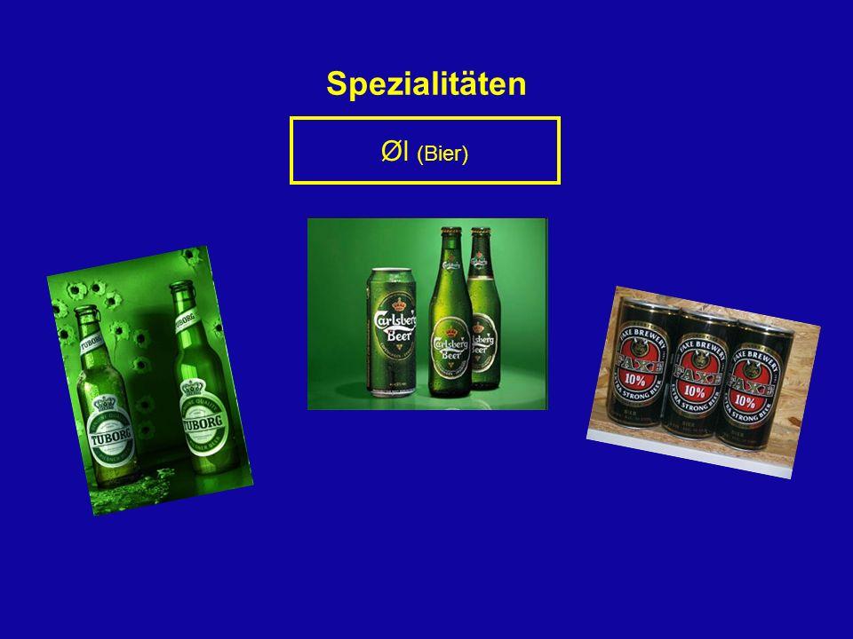 Spezialitäten Øl (Bier)